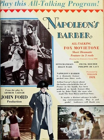Poster of Napoleon's Barber