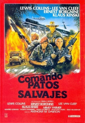 Poster of Comando Patos Salvajes