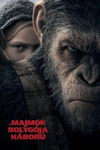 Poster of A majmok bolygója: Háború