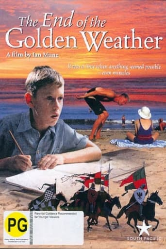 Poster of The End of the Golden Weather