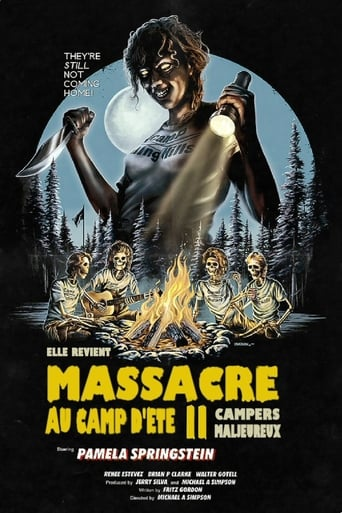 Poster of Massacre au camp d'été 2