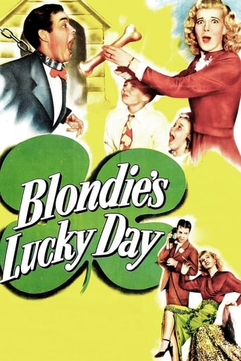 Poster of Blondie's Lucky Day