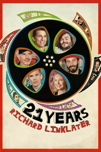 Poster of 21 Years: Richard Linklater