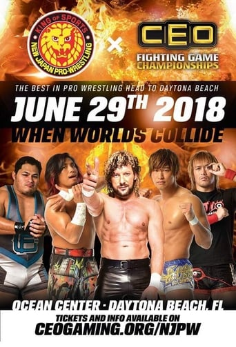 Poster of CEOxNJPW When Worlds Collide