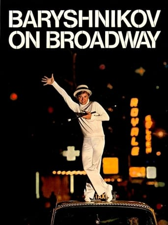 Poster of Baryshnikov on Broadway