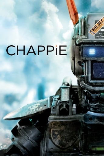 Chappie (2015) - poster