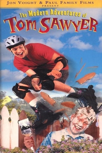 Poster of The Modern Adventures of Tom Sawyer