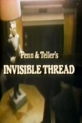 Poster of Penn & Teller's Invisible Thread