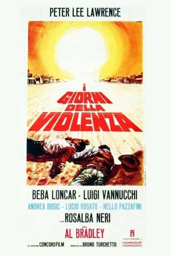 Days of Violence Movie Poster