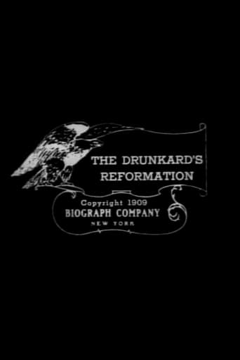 Poster of The Drunkard's Reformation
