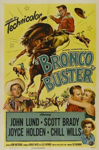 Bronco Buster Movie Poster