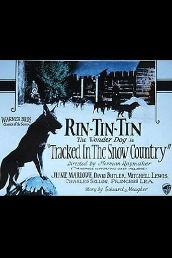 Poster of Tracked in the Snow Country