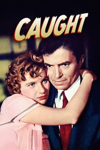 Caught (1949) - poster