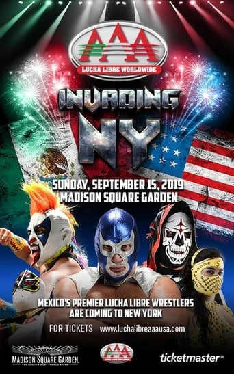 Poster of Lucha Libre AAA Invading New York