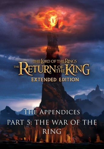 Poster of The Appendices Part 5: The War of the Ring