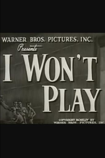 Poster of I Won't Play