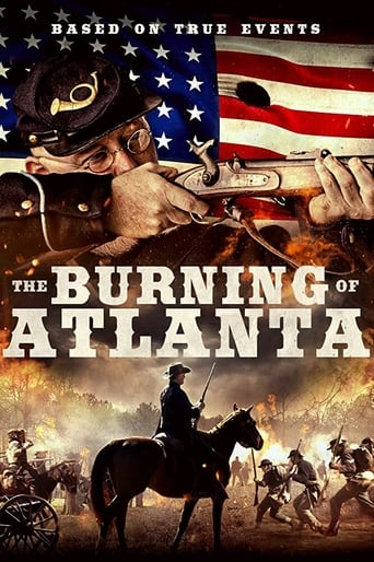 The Burning of Atlanta Poster