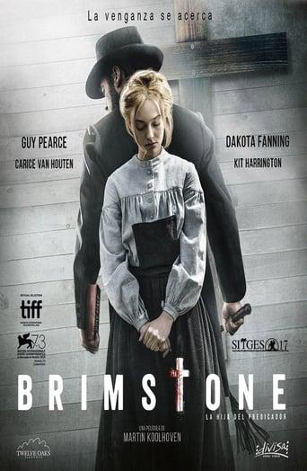 Poster of Brimstone. La hija del predicador