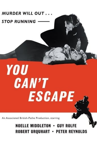Poster of You Can't Escape