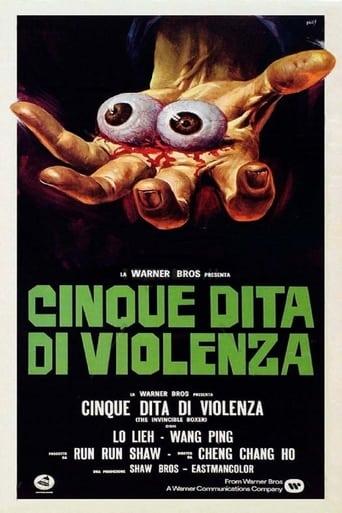 Poster of A halál öt ujja