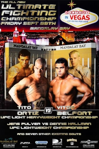 Watch UFC 33: Victory In Vegas 2001 full online free