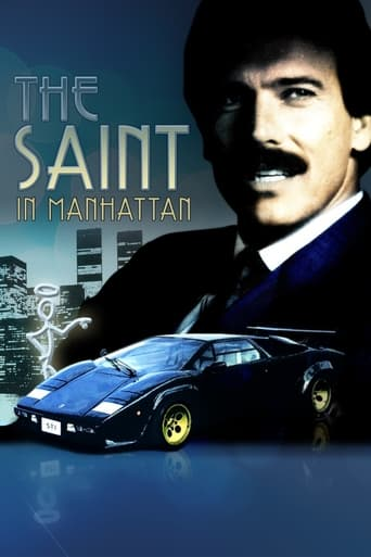 Poster of The Saint in Manhattan