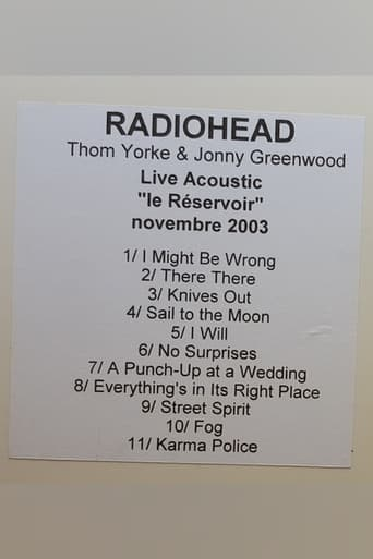 Thom Yorke and Jonny Greenwood - Acoustic at Le Reservoir
