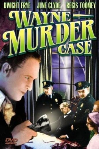 Poster of The Wayne Murder Case