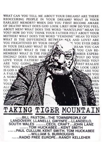 Poster of Taking Tiger Mountain