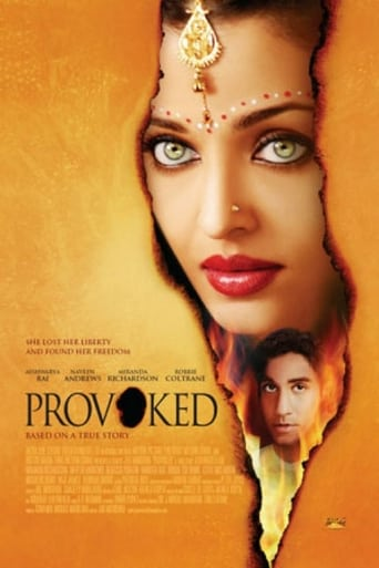 Poster of Provoked: A True Story