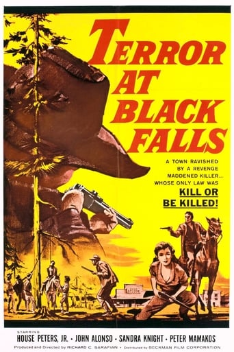 Poster of Terror At Black Falls
