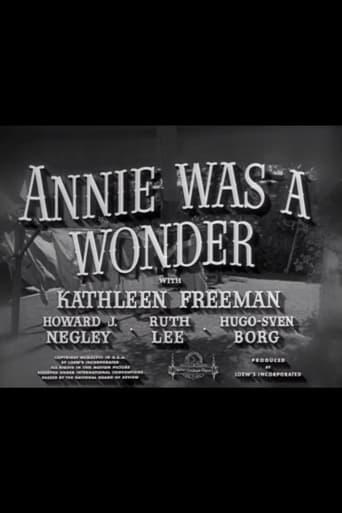Poster of Annie Was a Wonder