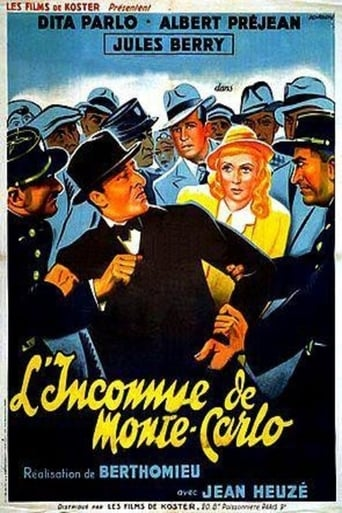 The Woman of Monte Carlo Movie Poster