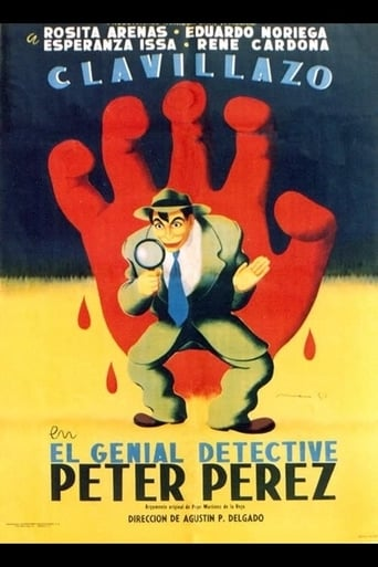 Watch El genial Detective Peter Pérez 1952 full online free
