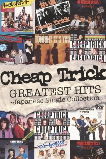 Poster of Cheap Trick - Greatest Hits - Japanese Single Collection