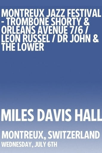 Poster of Dr. John & The Lower 911 - Montreux Jazz Festival