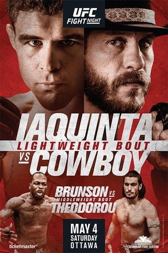 Watch UFC Fight Night 151: Iaquinta vs. Cowboy Free Online Solarmovies
