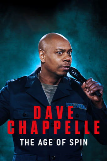Poster The Age of Spin: Dave Chappelle Live at the Hollywood Palladium