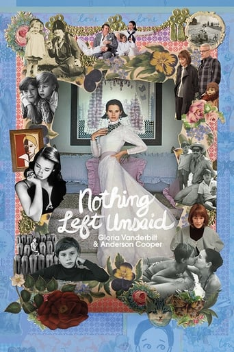 Watch Nothing Left Unsaid: Gloria Vanderbilt & Anderson Cooper Online Free Putlocker