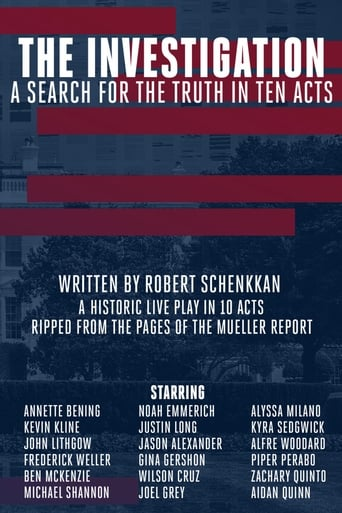 Poster of The Investigation: A Search for the Truth in Ten Acts