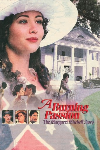 Poster of A Burning Passion: The Margaret Mitchell Story