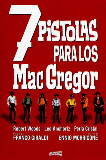 Poster of Seven Guns for the MacGregors