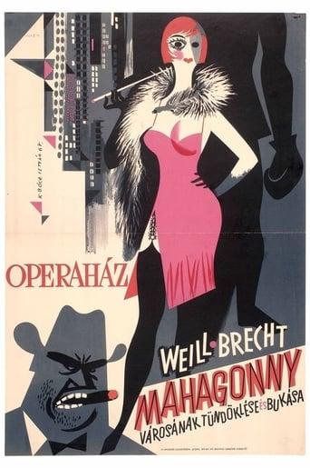 Poster of Mahagonny