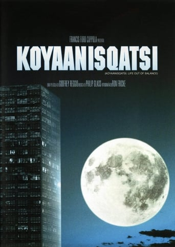 Poster of Koyaanisqatsi
