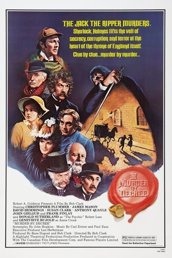 Poster of Murder by Decree