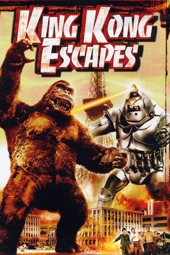 Poster of King Kong Escapes