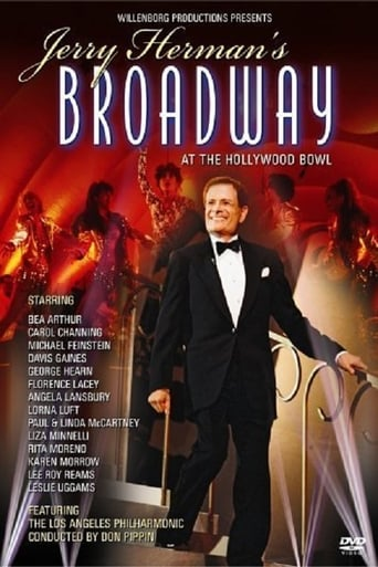 Poster of Jerry Herman's Broadway at the Hollywood Bowl