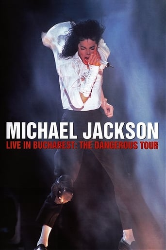 Poster of Michael Jackson: Live in Bucharest - The Dangerous Tour