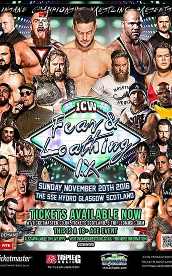 Poster of ICW Fear and Loathing IX