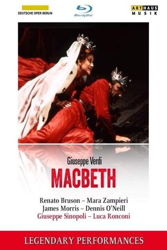 Poster of Verdi Macbeth